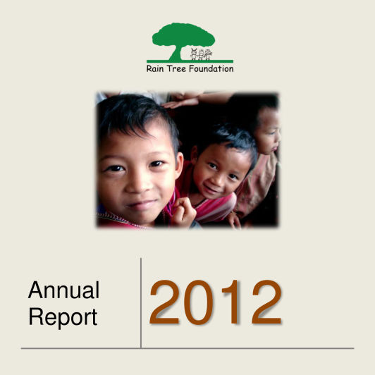 Annual Report with Financial Statement 2012
